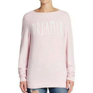 WILDFOX Dreamer Jumper soft Pink Graphic Sweater